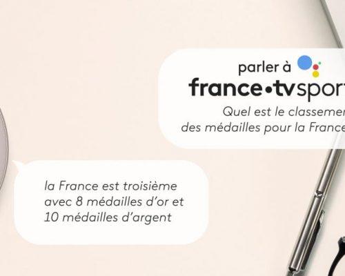 Francetv sport | Voice assistant Olympics 2018