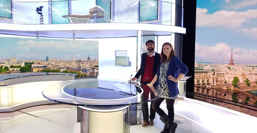 Visiting France Télévisions, our first international Sandbox