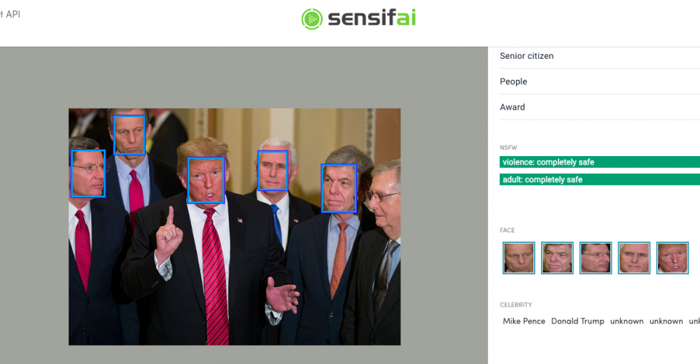 "MediaRoad Quality Label: VRT's Sandbox project ""Sensifai Celebrity Recognition System"""